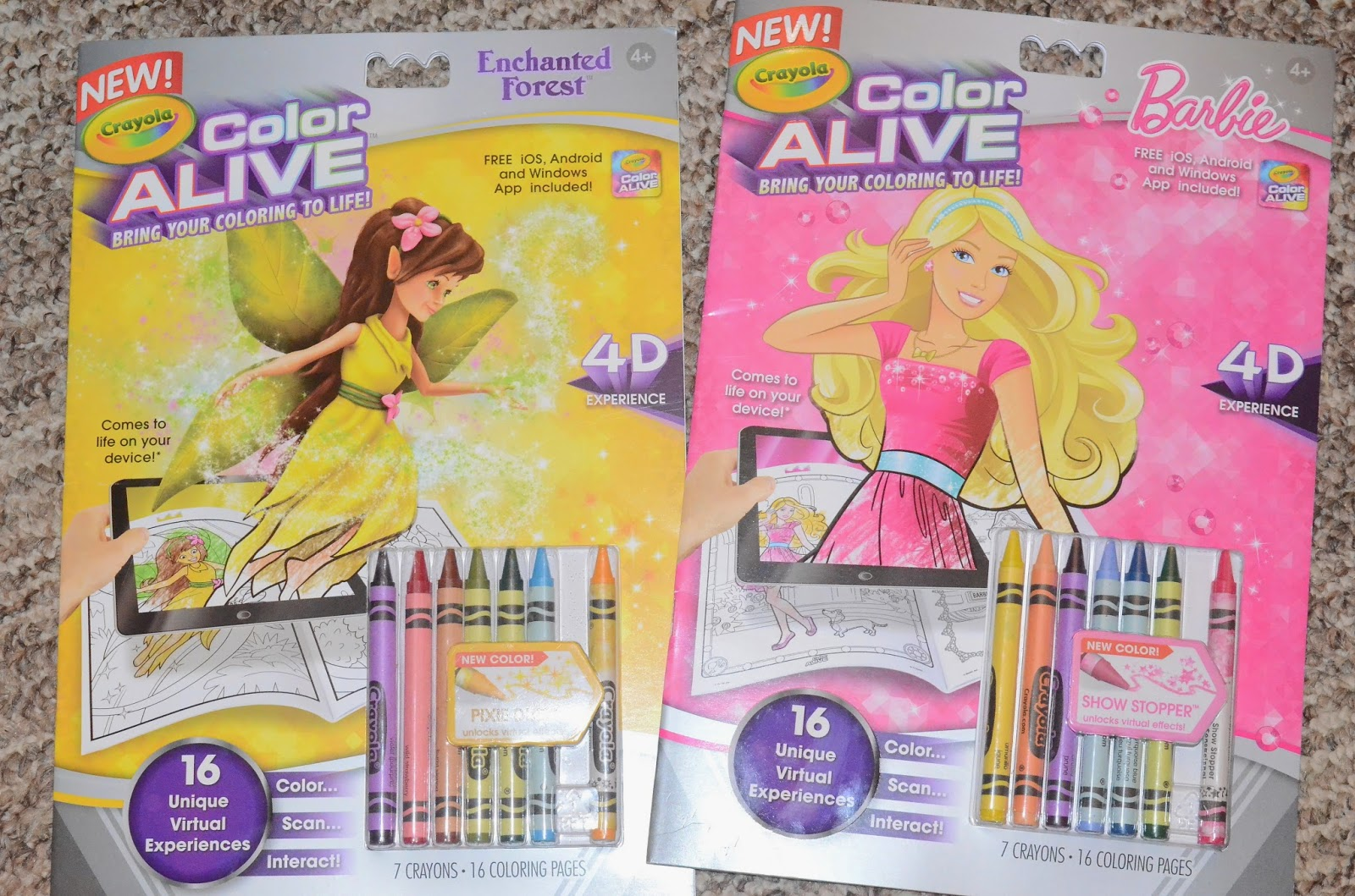 Crayola & 3D Systems Team for 3D Printed Coloring Book  - crayola color alive coloring pages