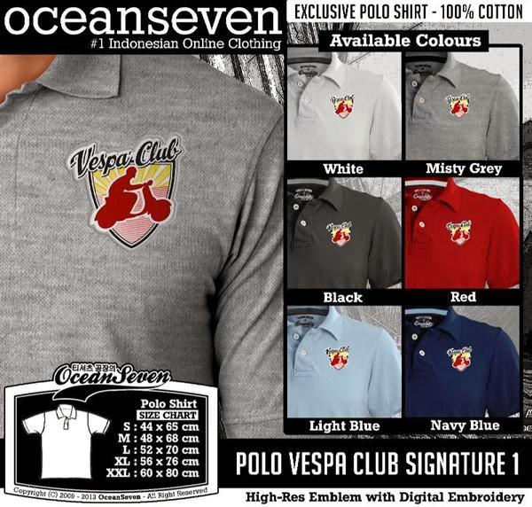 POLO Vespa Signature distro ocean seven
