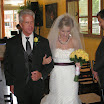 Lepisto wedding - bride and father