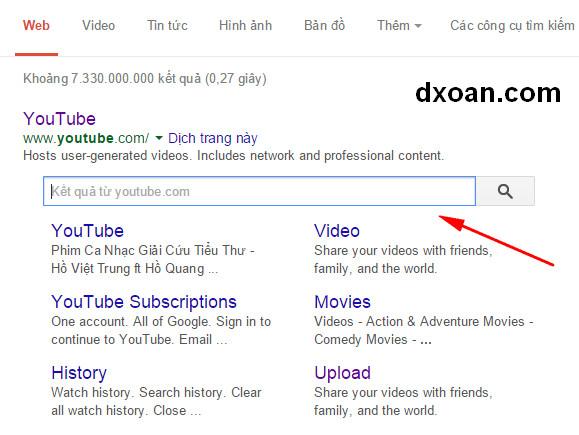 Hướng dẫn tạo Sitelinks Search Box cho Blogger (Blogspot)