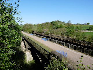 The Monsal Trail Viaducts from near the limekilns