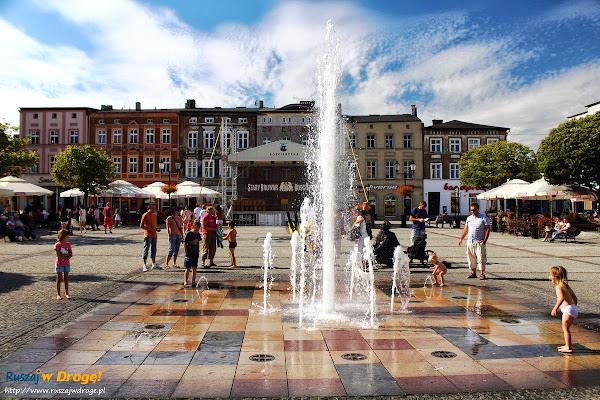 kościerzyna fontanna na rynku