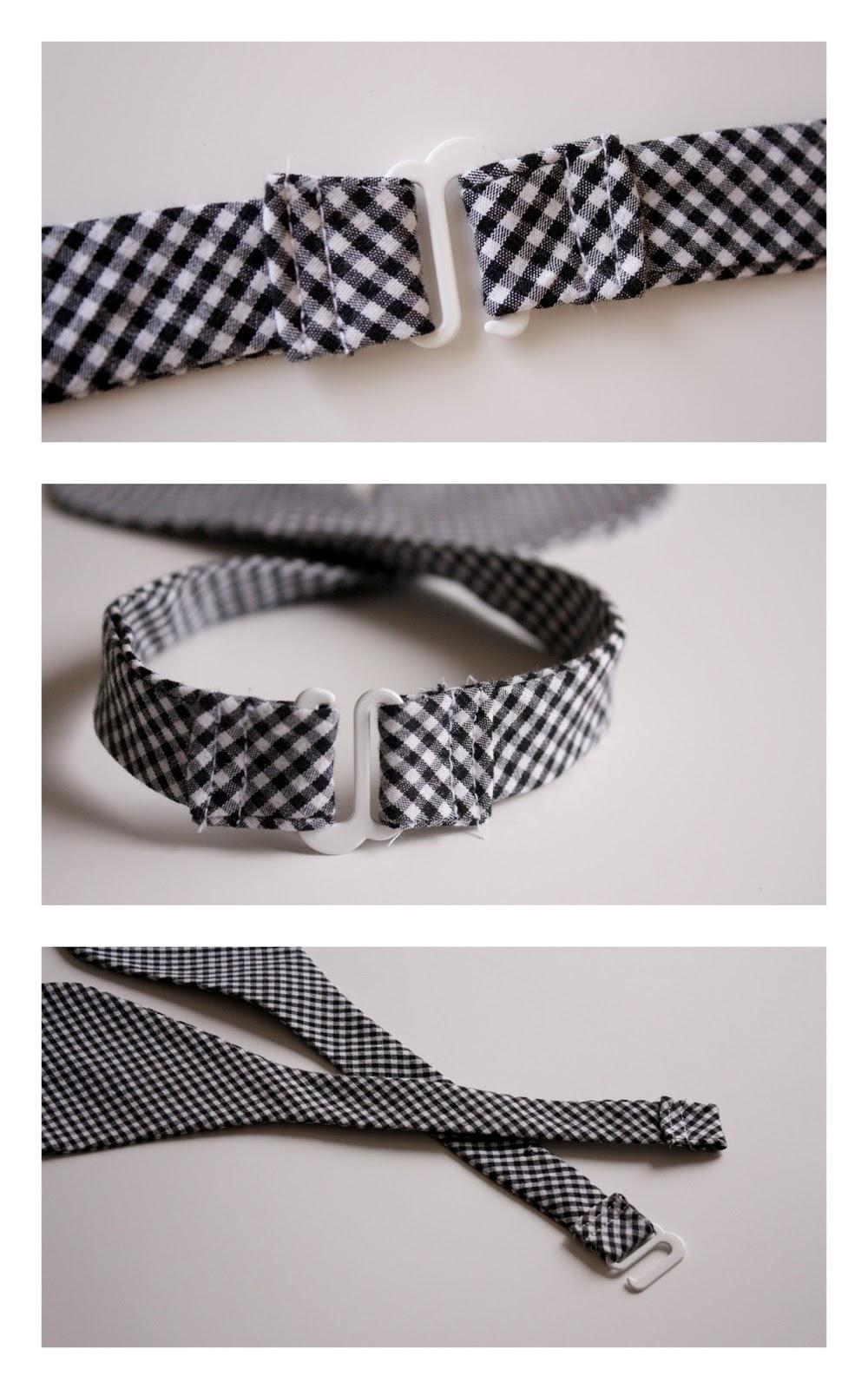 Как сшить ремешок для галстука бабочки 57