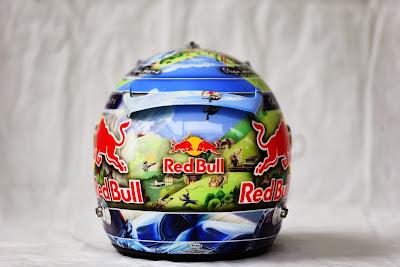 шлем Себастьяна Феттеля для Гран-при Бразилии 2013