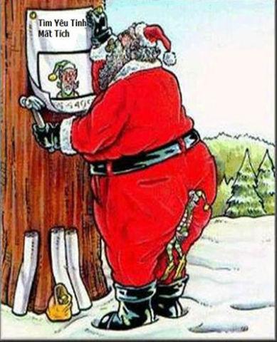 Ảnh vui ông già Noel hài bá đạo