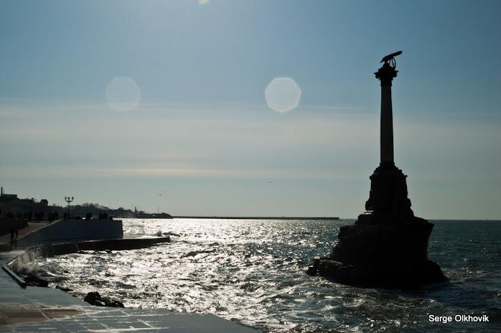 Набережная в Севастополе