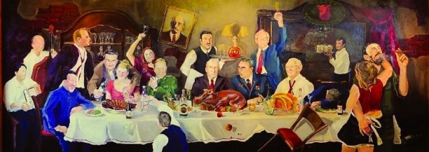 La última cena comunista