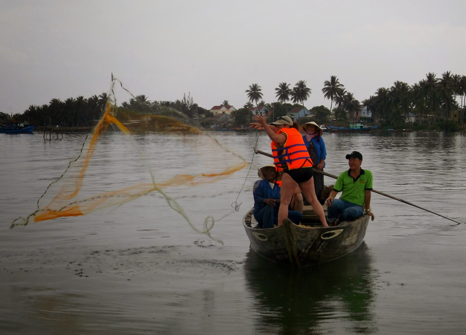 Good Morning Vietnam, Part 4: Fishing off Hoi An!