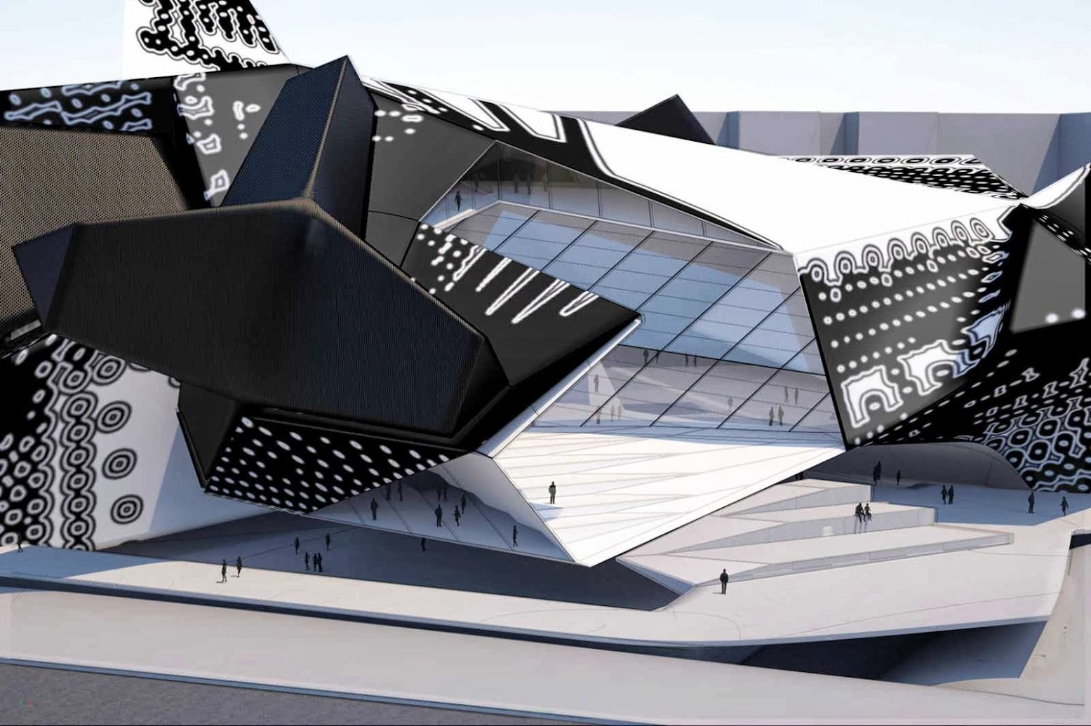 Mosca, Russia: [NATIONAL CENTER FOR CONTEMPORARY ARTS BY TOM WISCOMBE DESIGN]