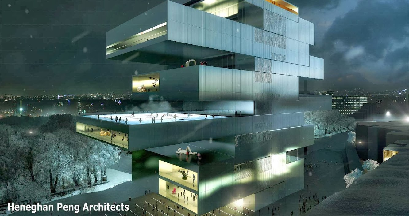 Finalists for competition the New National Center for