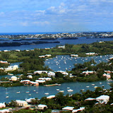 The View From The Top of Gibbs Hill Lighthouse - West End, Bermuda