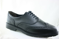 similar shoe in a brogue style