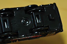 マクドナルド ハッピーセット プラレール C57 1号機 SLやまぐち号 スライド部分