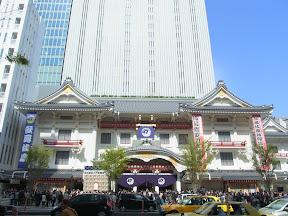 新しい歌舞伎座をみてきました