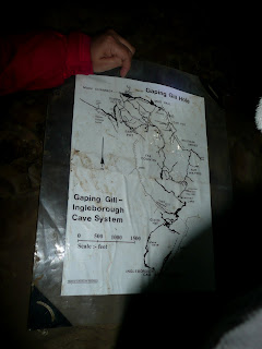 Gaping Gill - Ingleborough Cave System ... now ... where are we?