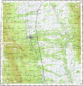 Map 100k--m54-070--(1982)