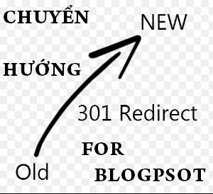ứng dụng Redirect 301 trong blogpsot