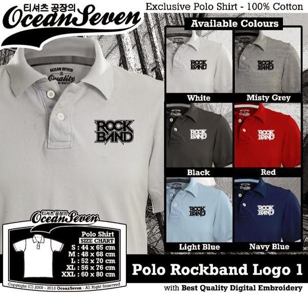 POLO Rockband Logo distro ocean seven