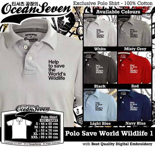 POLO Save World Wildlife Logo distro ocean seven
