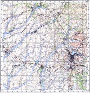 Уменьшенное изображение Карта 100k--m52-079