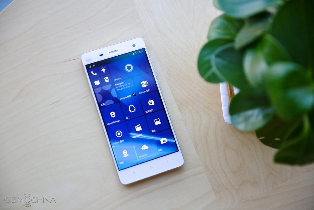 Xiaomi Mi 4 chạy windows 10 đã sẵn sàng lên kệ - 102991