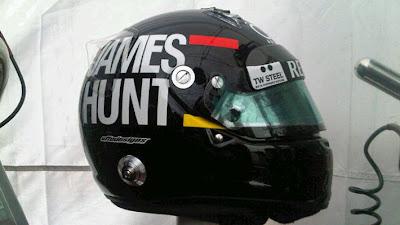 шлем Кими Райкконена в память о Джеймсе Ханте для Гран-при Монако 2012
