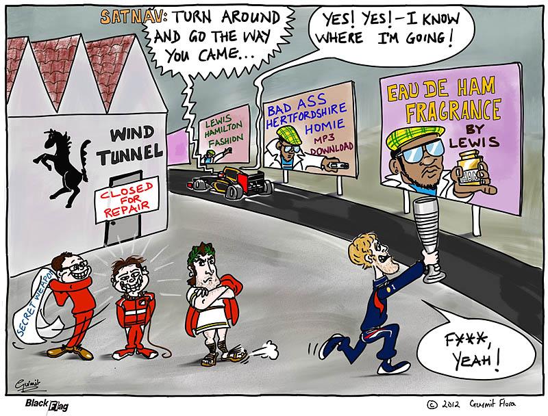 комикс Black Flag про сезон 2012