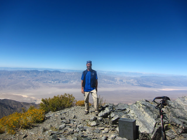 Brian At Telescope Peak Summit