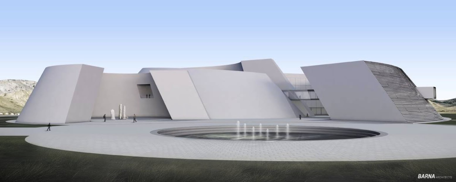 Ulan Bator, Mongolia: [NATIONAL ARCHAEOLOGICAL MUSEUM OF MONGOLIA BY BARNA ARCHITECTS]