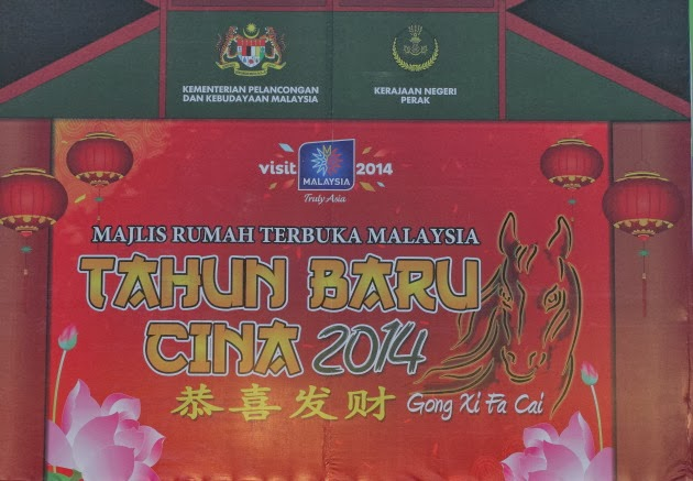 Chinese New Year Open House Celebrations at Taiping, Malaysia