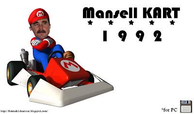 Найджел Мэнселл Mansell KART 1992 марио