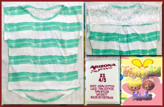 Arizona Striped Dolman Tee - Girls 4-16