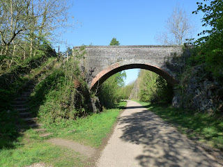 One of the many bridges on the Monsal Trail