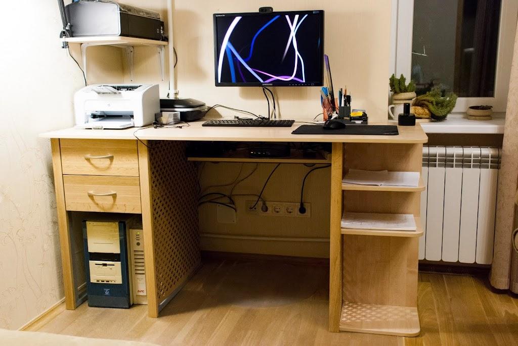 Как сделать себе компьютерный стол 700
