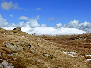 Snow on the Eastern Fells ... Seat Sandal and the Helvellyn range