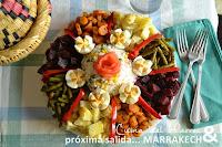 Refrescante ensalada marroquí