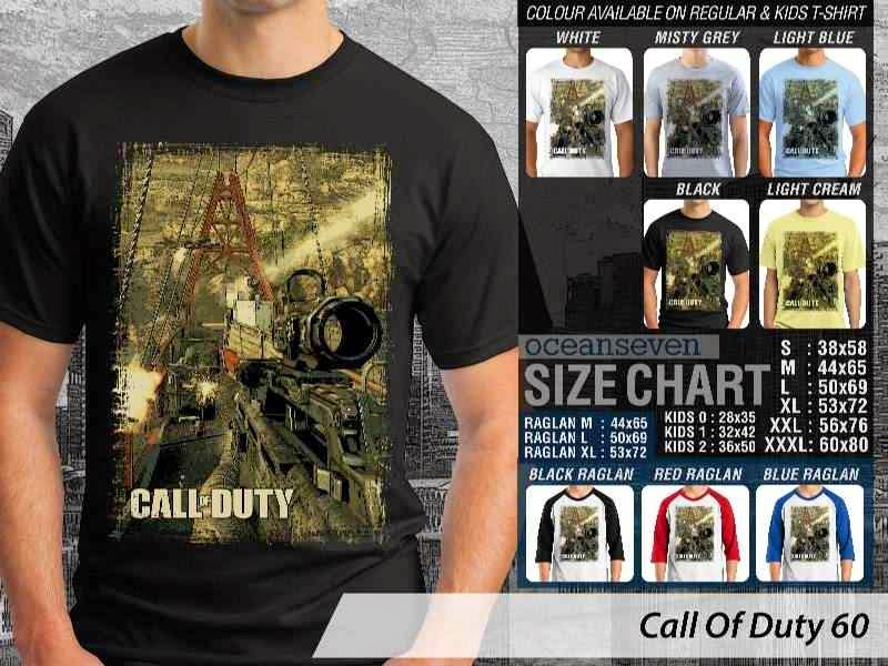 KAOS cod Call Of Duty 60 Game Series distro ocean seven