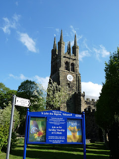 St John the Baptist Tideswell ... the Cathedral of the Peak.