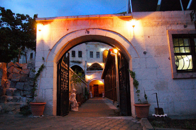Турция: Город Гереме в Каппадокии, арка