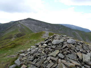 Hopegill Head and the Slabs from Ladyside Pike