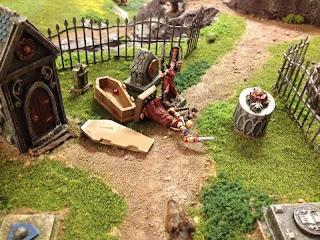 The awoken Vampire stuns Sister Anne