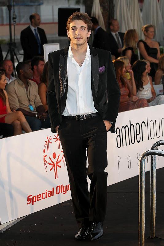 Жюль Бьянки на Amber Fashion Show на Гран-при Монако 2012
