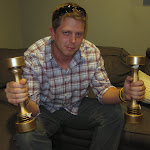 But the best find of the prop room was the shake-weights...thanks for being a sport Tony