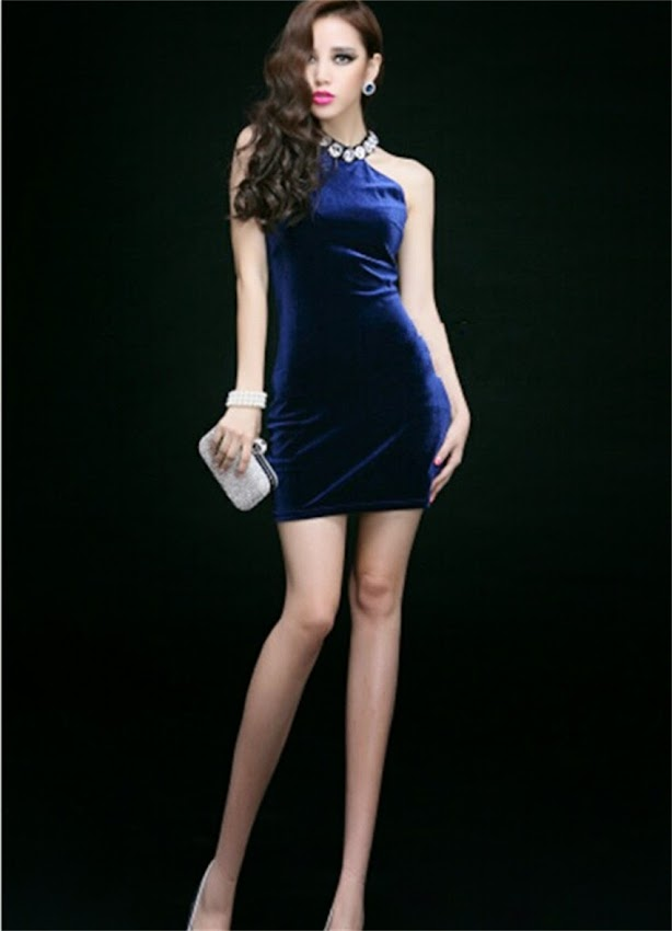 sparkle rhinestone halter tube bodycon women micro mini