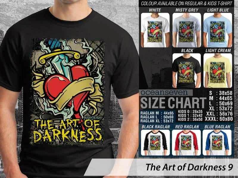 KAOS keren love The Art of Darkness 9 distro ocean seven