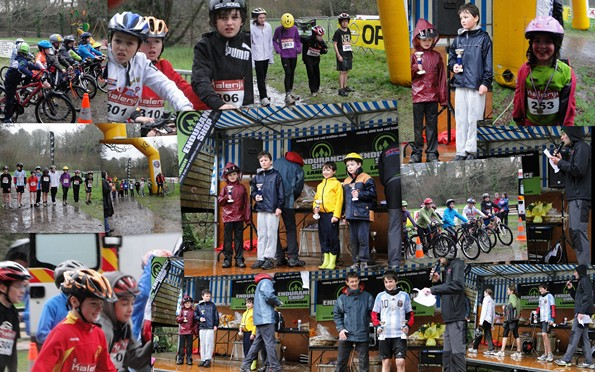 podium du Run n Bike Espoirs de Lannion 2012