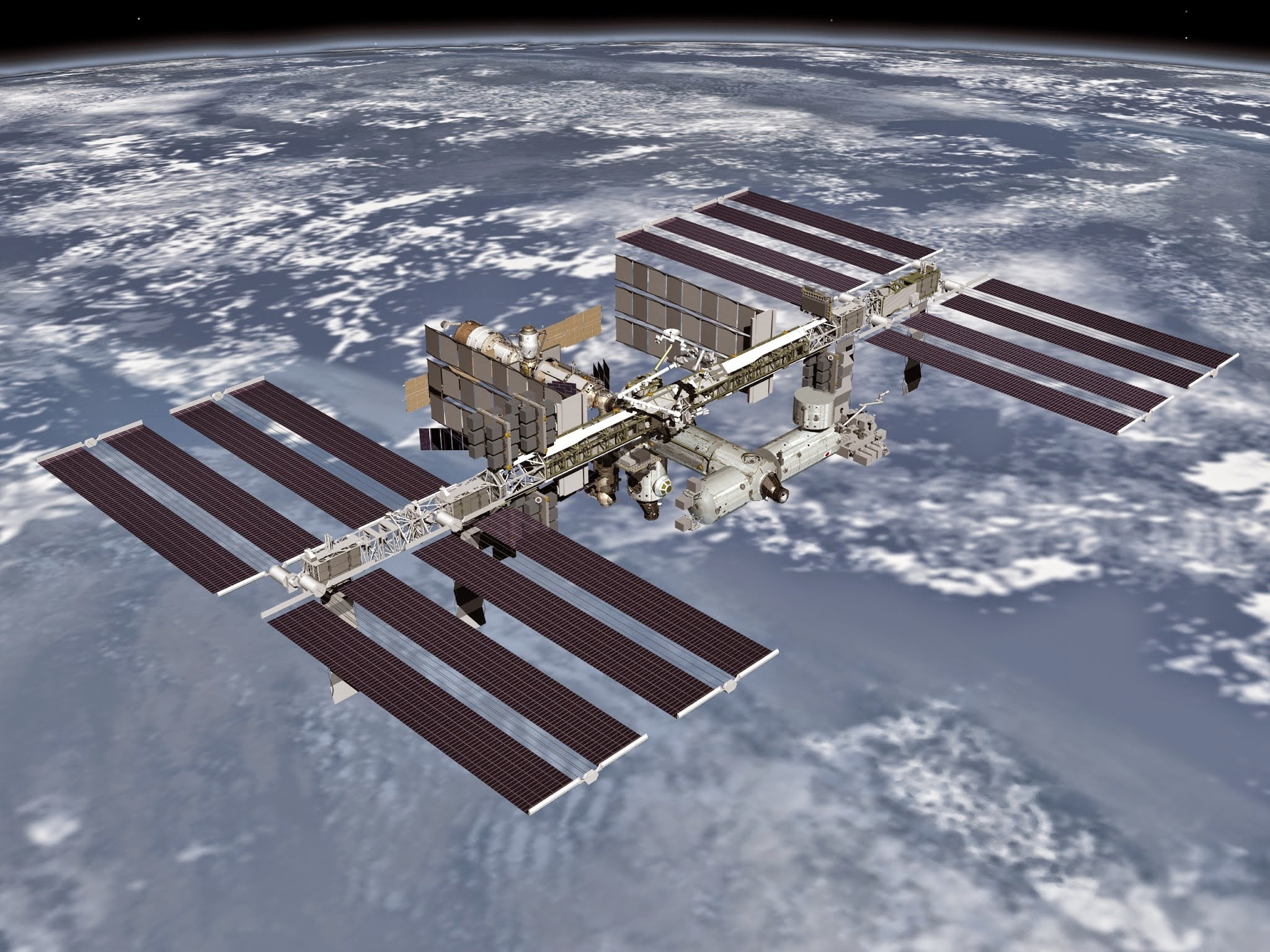 Image of the international space station ownership