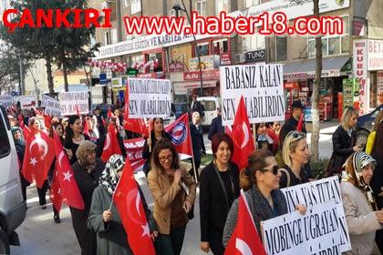 8 Mart Dünya Emekçi Kadınlar Günü Çankırı'da Memur Sen Tarafından