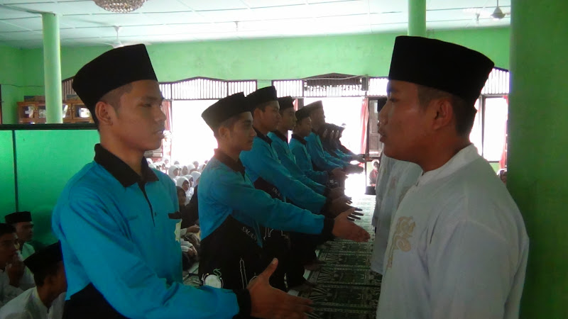 Serah Terima Jabatan Kepengurusan ROHIS Periode 2013/2014 -2014/2015
