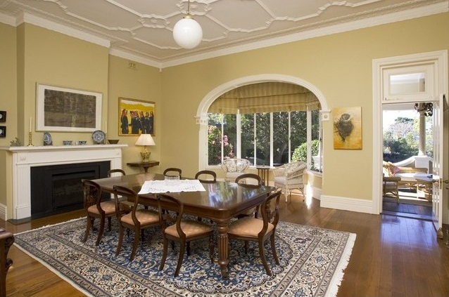 A beautiful, complex bay window at 6 Buena Vista Avenue  Clifton Gardens, has become a conversation nook